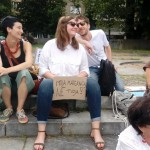 Demonstracije - Brez strahu. Proti politiki sovraštva. Trg republike, Ljubljana, 31. 05. 2018.©spol.si