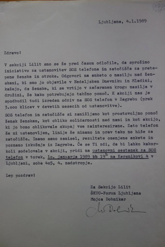 1989 01 Vabilo SOS